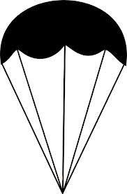 black parachute