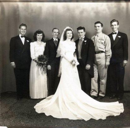 Mary & Bill hanlon wedding